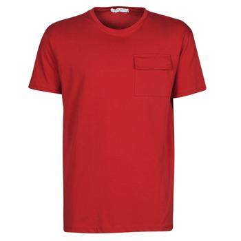 textil Herre T-shirts m. korte ærmer Yurban ORISE Rød