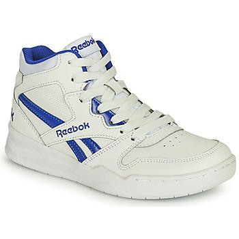 Sko Børn Høje sneakers Reebok Classic BB4500 COURT Hvid / Blå