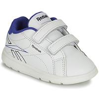 Sko Dreng Lave sneakers Reebok Classic RBK ROYAL COMPLETE Hvid / Blå