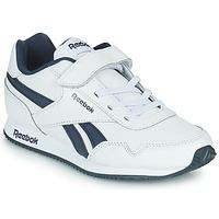 Sko Børn Lave sneakers Reebok Classic REEBOK ROYAL CLJOG Hvid / Marineblå