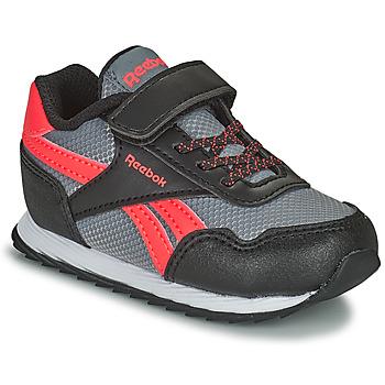 Sko Børn Lave sneakers Reebok Classic REEBOK ROYAL CLJOG Sort / Rød