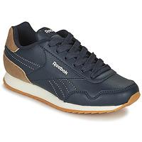 Sko Børn Lave sneakers Reebok Classic REEBOK ROYAL CLJOG Marineblå / Brun