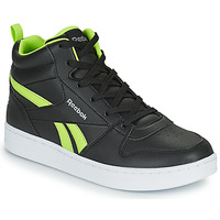 Sko Børn Høje sneakers Reebok Classic REEBOK ROYAL PRIME Sort / Gul