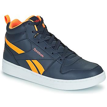 Sko Børn Høje sneakers Reebok Classic REEBOK ROYAL PRIME Marineblå / Orange