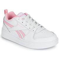 Sko Pige Lave sneakers Reebok Classic REEBOK ROYAL PRIME Hvid / Pink