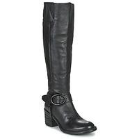Sko Dame Chikke støvler Airstep / A.S.98 JAMAL HIGH Sort