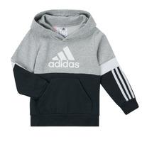 textil Dreng Sweatshirts adidas Performance CRAKA Grå / Sort