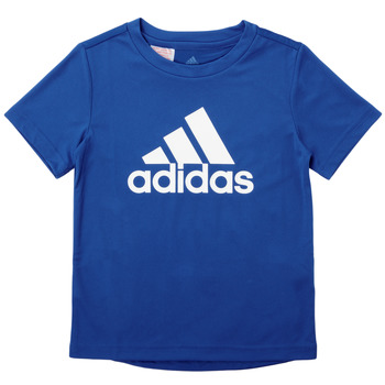 textil Dreng T-shirts m. korte ærmer adidas Performance CLAUDIA Blå
