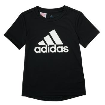 textil Dreng T-shirts m. korte ærmer adidas Performance NADGED Sort
