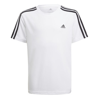textil Dreng T-shirts m. korte ærmer adidas Performance AYMERICA Hvid