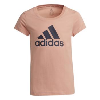 textil Pige T-shirts m. korte ærmer adidas Performance ALBERIC Pink