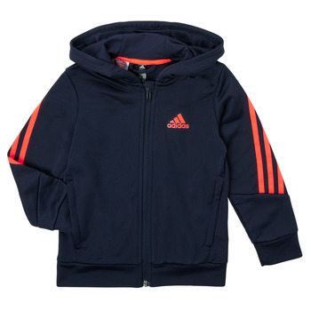 textil Dreng Sweatshirts adidas Performance HOODIZ Marineblå