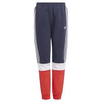 textil Dreng Træningsbukser adidas Performance ALMANA Marineblå / Rød
