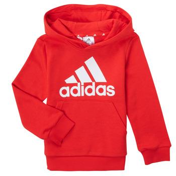 textil Dreng Sweatshirts adidas Performance GENIZA Rød