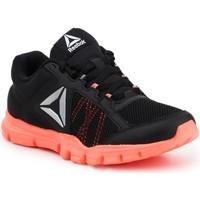 Sko Dame Fitness / Trainer Reebok Sport YOURFLEX TRAINETTE 9.0 MT BS8042 black, koralowy