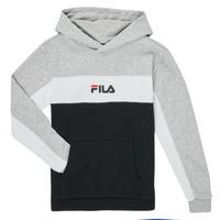 textil Dreng Sweatshirts Fila CAMILLA Sort / Grå