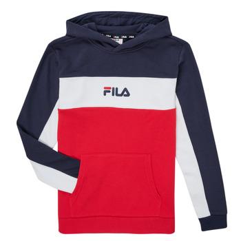 textil Dreng Sweatshirts Fila CAMILLA Rød / Marineblå