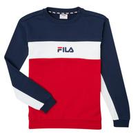 textil Dreng Sweatshirts Fila KAMILA Rød / Marineblå