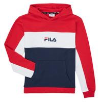 textil Pige Sweatshirts Fila POLLY Rød / Marineblå