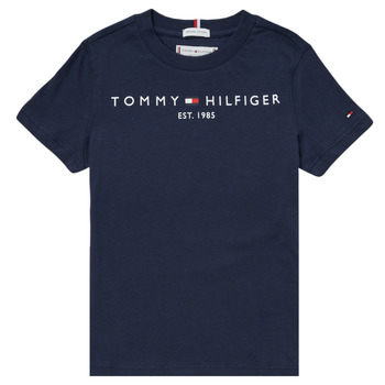 textil Dreng T-shirts m. korte ærmer Tommy Hilfiger SELINERA Marineblå