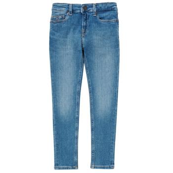 textil Dreng Jeans - skinny Tommy Hilfiger SIMON Blå