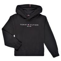 textil Pige Sweatshirts Tommy Hilfiger DEMINRA Sort