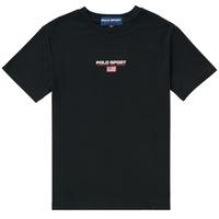 textil Dreng T-shirts m. korte ærmer Polo Ralph Lauren ANNITA Sort