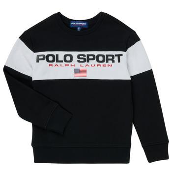 textil Dreng Sweatshirts Polo Ralph Lauren SIMEON Sort