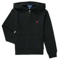 textil Dreng Sweatshirts Polo Ralph Lauren SINELA Sort