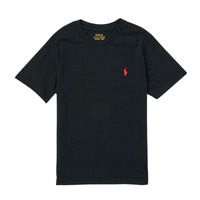 textil Dreng T-shirts m. korte ærmer Polo Ralph Lauren FANNY Sort
