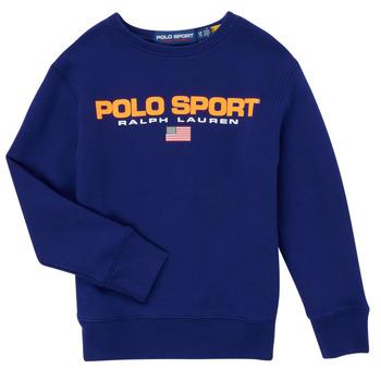 textil Dreng Sweatshirts Polo Ralph Lauren SENINA Marineblå