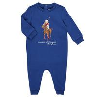 textil Dreng Buksedragter / Overalls Polo Ralph Lauren KATRINA Marineblå