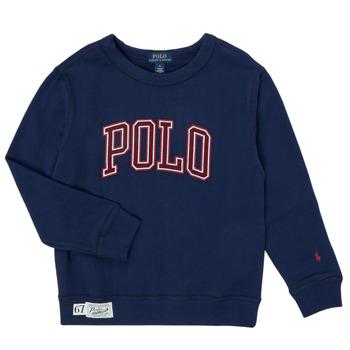 textil Dreng Sweatshirts Polo Ralph Lauren KAMILLAR Marineblå
