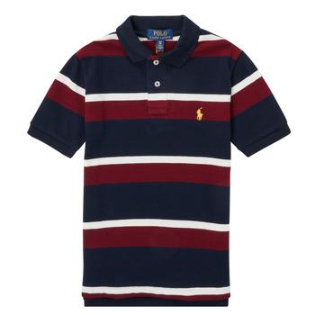 textil Dreng Polo-t-shirts m. korte ærmer Polo Ralph Lauren POLLONO Flerfarvet
