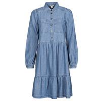 textil Dame Korte kjoler Esprit COO DRESS Blå