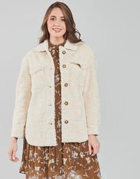 textil Dame Frakker Esprit LL F SHRLG SHKT Beige