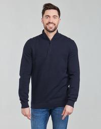textil Herre Pullovere Esprit PIMA TRO Blå