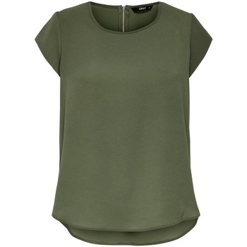 T-shirts m. korte ærmer Only  T-shirt femme  manches courtes Vic solid