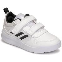 Sko Børn Lave sneakers adidas Performance TENSAUR C Hvid / Sort