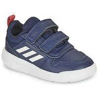 Sko Børn Lave sneakers adidas Performance TENSAUR I Marineblå / Hvid