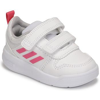 Sko Pige Lave sneakers adidas Performance TENSAUR I Hvid / Pink