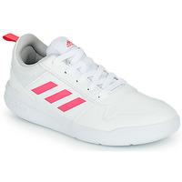 Sko Pige Lave sneakers adidas Performance TENSAUR K Hvid / Pink