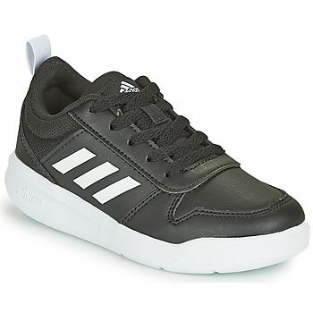 Sko Børn Lave sneakers adidas Performance TENSAUR K Sort / Hvid