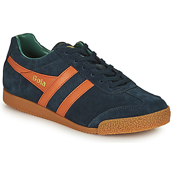 Sko Herre Lave sneakers Gola HARRIER Marineblå / Orange