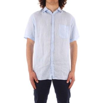 textil Herre Skjorter m. korte ærmer Trussardi 52C00213 1T002248 BLUE