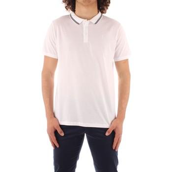 textil Herre Polo-t-shirts m. korte ærmer Trussardi 52T00501 1T003602 WHITE