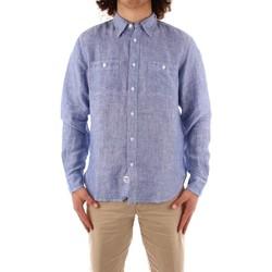 textil Herre Skjorter m. lange ærmer Blauer 21SBLUS01221 BLUE