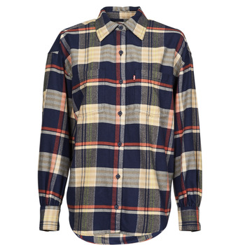 textil Dame Skjorter / Skjortebluser Levi's REMI UTILITY SHIRT Flerfarvet