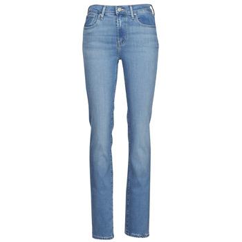 textil Dame Lige jeans Levi's 724 HIGH RISE STRAIGHT Blå