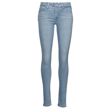 textil Dame Jeans - skinny Levi's 712 SKINNY Blå